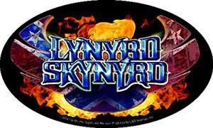 Lynyrd Skynyrd - Oval Logo Sticker