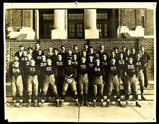 1935 Pleasantville High School Football Team Photo, Pleasantville, New Jersey