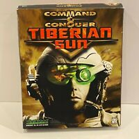 *Big Box and Manuals Only* Command and Conquer Tiberian Sun PC Big Box NO GAME