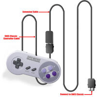 Controller Extension Cable Cord For Nintendo Mini SNES Classic Edition