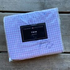 Tommy Hilfiger Lavender Blues Twin Bedskirt NEW in Package Plaid