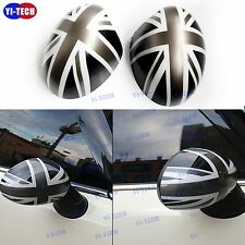 For Mini Cooper MK2 Side Mirror Cover Cap for Manual Mirror Grey Jack R55-R61
