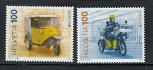 SWITZERLAND Postal Vehicles EUROPA 2013 MNH set