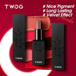 TWOG Matte Lipsticks Waterproof Long Lasting Easy to Wear Lipstick Pomade Cosmo