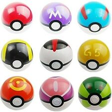 9 Pokemon Pokeball Pikachu Cosplay Pop-up Master Ultra GS Poke Ball Toy Kids Toy