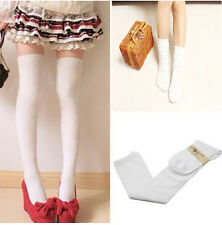 Fashion Lady Cotton Velvet Over Knee Thigh Stockings Pantyhose Tights High Socks
