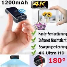 4K HD Mini Versteckt Kamera Überwachungkamera IR Nachtsicht Hidden Spycam Neu
