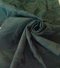 "5 Meters Prestigious Green Heavy Jacquard Brocade 60"" Wide  Curtain Fabric"