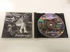 WHITNEY HOUSTON I'M YOUR BABY TONIGHT CD 1990