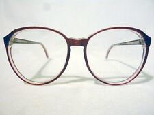 Vintage Regency Eyewear Windsong Burgundy 57/17 Eyeglass Frame New Old Stock