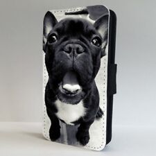 French Bulldog Cute Yawning Face FLIP PHONE CASE COVER for IPHONE SAMSUNG