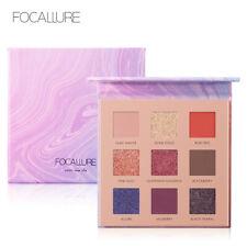 FOCALLURE Night Elf Eyeshadow Palette - 9 Colour Matte & Shimmer Eye Shadow