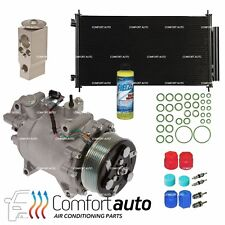 New AC A/C Compressor & Condenser Kit Fits: 2007 - 2011 Honda CR-V CRV L4 2.4L