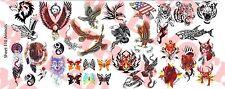 1/6 Scale Custom Tattoos: Animal variety pack - Waterslide Decals