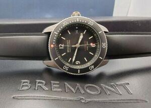2018 Bremont Supermarine 'Spitfire' S300 BK Box & Papers, 40mm Auto Black dial