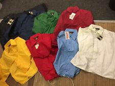 Vintage 70s deadstock coaches jacket dunbrooke sideline jacket Usa Made Big Stoc
