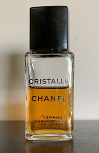 VTG Chanel Cristalle Fluid Fragrance 2 FL. OZ Early Formula 60% Full Preowned