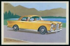 Facel Vega Grand Turisme France Automobile car original 1950s Tobler postcard