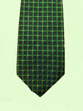 Tie, Paul Fredrick, Green Grid Color Dots Silk XTR Long -  Hand-Tailored Italian