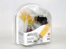 Nokya 2500K 45w Hyper Yellow H10 Halogen Fog Light Bulbs B