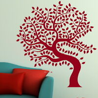 Tree Of Life Tree Wall Transfer / Large Art Decor / Big Tree Wall Sticker TR16