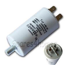 7uf CAPACITOR 7 MFD Tag Terminal Motor Run Start Universal 450VAC 50/60 Hz