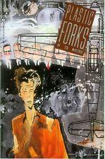 Plastic Forks # 2 (of 5) (Ted Jewel) (USA, 1990)