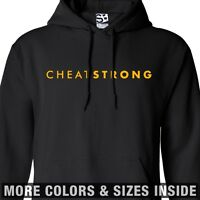 CheatStrong HOODIE - Hooded Cheat Strong Live Lance Sweatshirt -All Sizes Colors