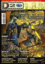 D20  MAGAZINE N°17 JDR DD3 SEIGNEUR DES ANNEAUX