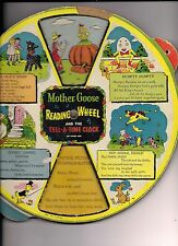 Mother Goose READING WHEEL(1930'S?)