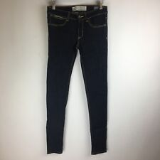 Vintage Superdry Jeans - Skinny Fit Dark Wash - Tag Size: 25x32 (29x31.5) #3395