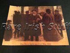Dan Breen Smoking-Kilmallock Battle,Limerick, Ireland 1922 Irish Civil War Print
