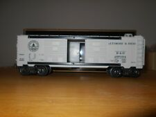 "K-LINE O-SCALE B&O CLASSIC DOUBLE DOOR BOXCAR K644-1091 ""GENTLY USED""  L@@K!!!"