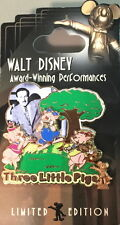 "Wdw Walt Disney Award Winning Performances ""Three Little Pigs"" Pin - Pp #51945"