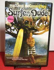 Surfer, Dude 2008 (DVD) Free S&H - Matthew McConaughey, Woody Harrelson