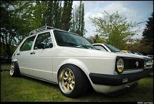 15X7 +25 Rota Rb Gold 4X100 Wheels Fit Vw Cabriolet Jetta Golf Echo Mirage Mr2