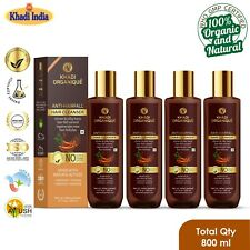 Anti Hair Fall Shampoo 100% Organic Pure Herbal Paraben Sulfate Free pack of 4