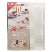 Magicloth Spill & Stain Resistant Tablecloth - Easy Clean - Seats 4-6