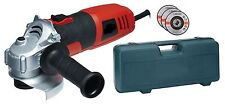 """850W HEAVY DUTY 4.5"""" 115MM  ELECTRIC ANGLE GRINDER IN CASE AND 3 DISCS WARRANTY"""