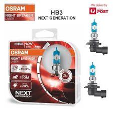 OSRAM HB3 12V 60W 9005NL-HCB Night breaker laser next gen globes/bulbs Twin pack