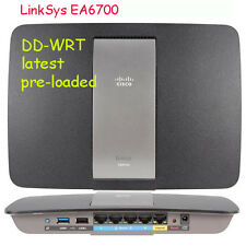 Linksys EA6700 AC1750 Router +USB+Gigbit Ports Kodi VPN Tor TV-Box dd-wrt@2017