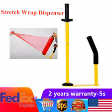 Handle Stretch Film Wrapping Dispenser Tools Pallet Packing Machine Metal+Rubber