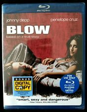 BLOW (Blu-ray Disc, 2008) Johnny Depp Penelope Cruz 1080p HD + Digital Copy NEW