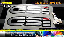 GSi kadett opel pegatina sticker decal aufkleber autocollant 3M 50 S