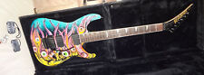 KRAMER BARETTA II EYEBALL GRAPHIC AMERICAN Electric Guitar Floyd Rose & EMG
