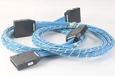 HellenmannTyton Rapidnet CAT6 4PR/23G FT4 / Cmr 5.5m 6-PORT Cass-Cass Loom, Bleu