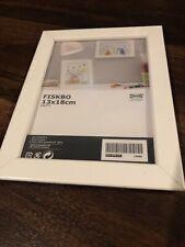 "New Ikea Fiskbo 5"" X 7"" Picture Frame White"