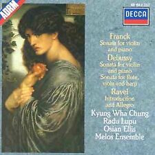 Kyung Wha Chung - Debussy: Sonata for Flute, Viola and Harp [CD]