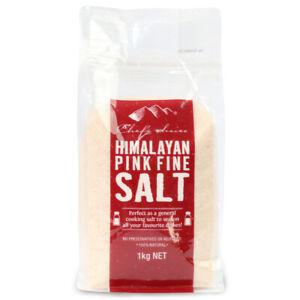 Chef's Choice Himalayan Pink Rock / Fine Salt 1kg