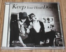 TVXQ! TVXQ Keep Your Head Down Special Ver. K-POP JEWEL CASE PROMO CD